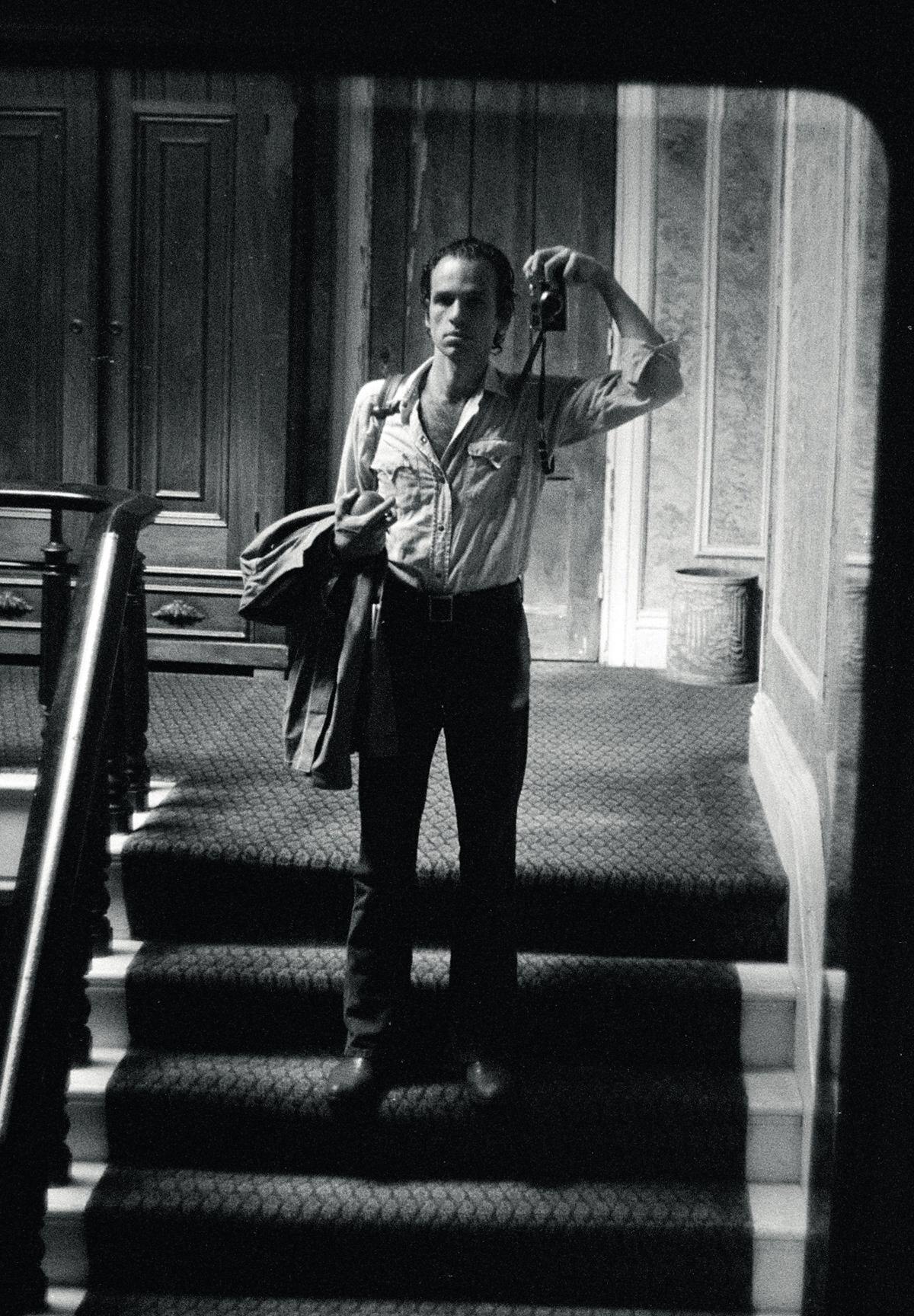 Joel Meyerowitz, Self-Portrait, 1971. © Joel Meyerowitz. Courtesy of the artist and Laurence King Publishing.