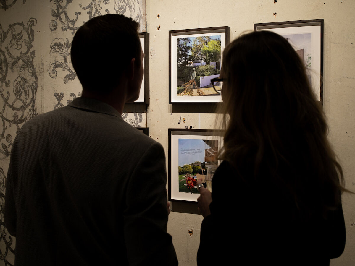 Visitors at the preview of the 2020 ADAA Art Show. Photo by Jocko Graves/BFA.com, © BFA 2020
