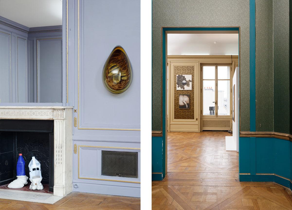 Left: High Art's booth at Paris Internationale. Photos courtesy of Paris Internationale.