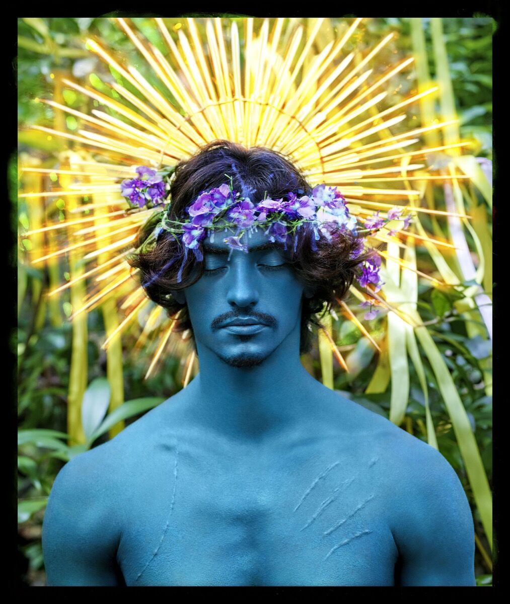 David LaChapelle, Behold, 2017. © David LaChapelle. Courtesy of Templon, Paris & Brussels.