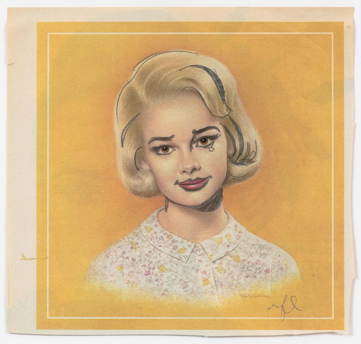 Roy Lichtenstein, Breck Girl, c. 1964. © 2019 Estate of Roy Lichtenstein. Courtesy of the Museum of Modern Art.