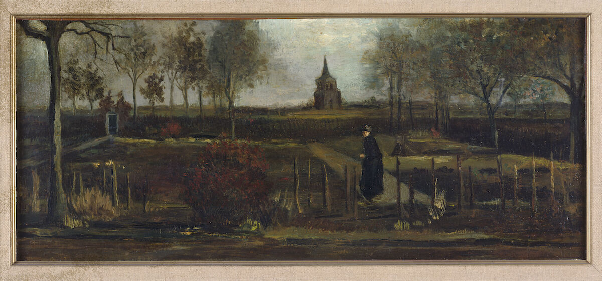 Vincent van Gogh, The Parsonage Garden at Nuenen in Spring 1884, 1884. Groninger Museum. Courtesy Museum Singer Laren.