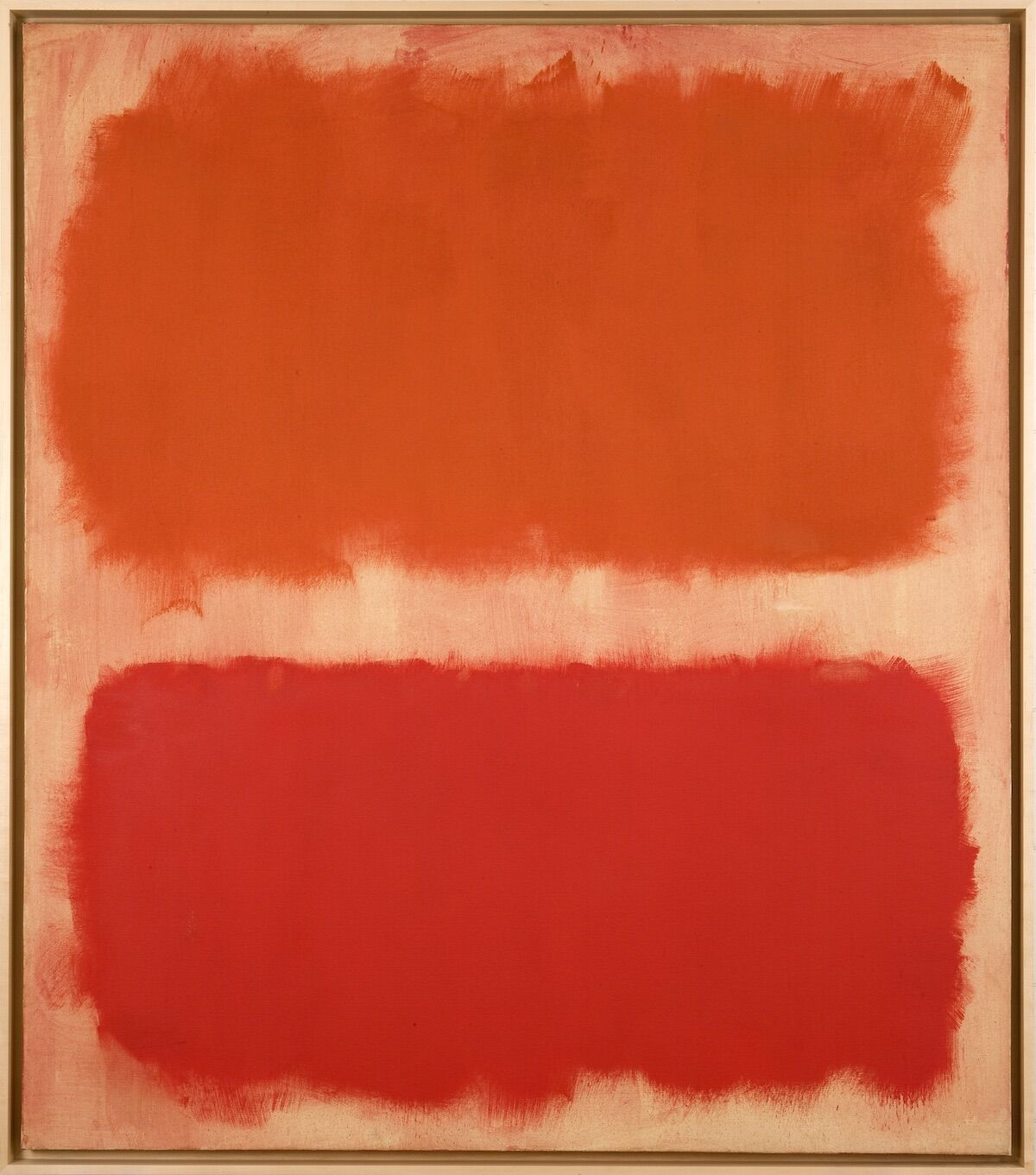 Mark Rothko, Number 22 (reds), 1957. © 2020 Kate Rothko Prizel and Christopher Rothko / ARS, New York. Courtesy the Donald B. Marron Family Collection, Acquavella Galleries, Gagosian, and Pace Gallery.