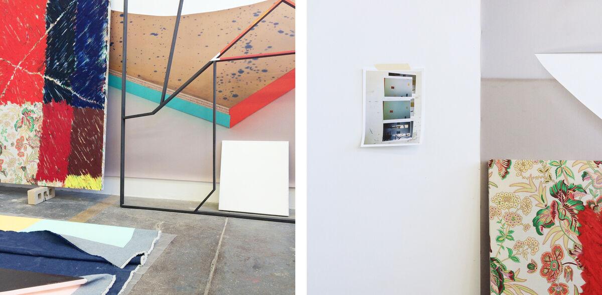 Views of Nathan Dilworth's studio. Photos by Alexxa Gotthardt.