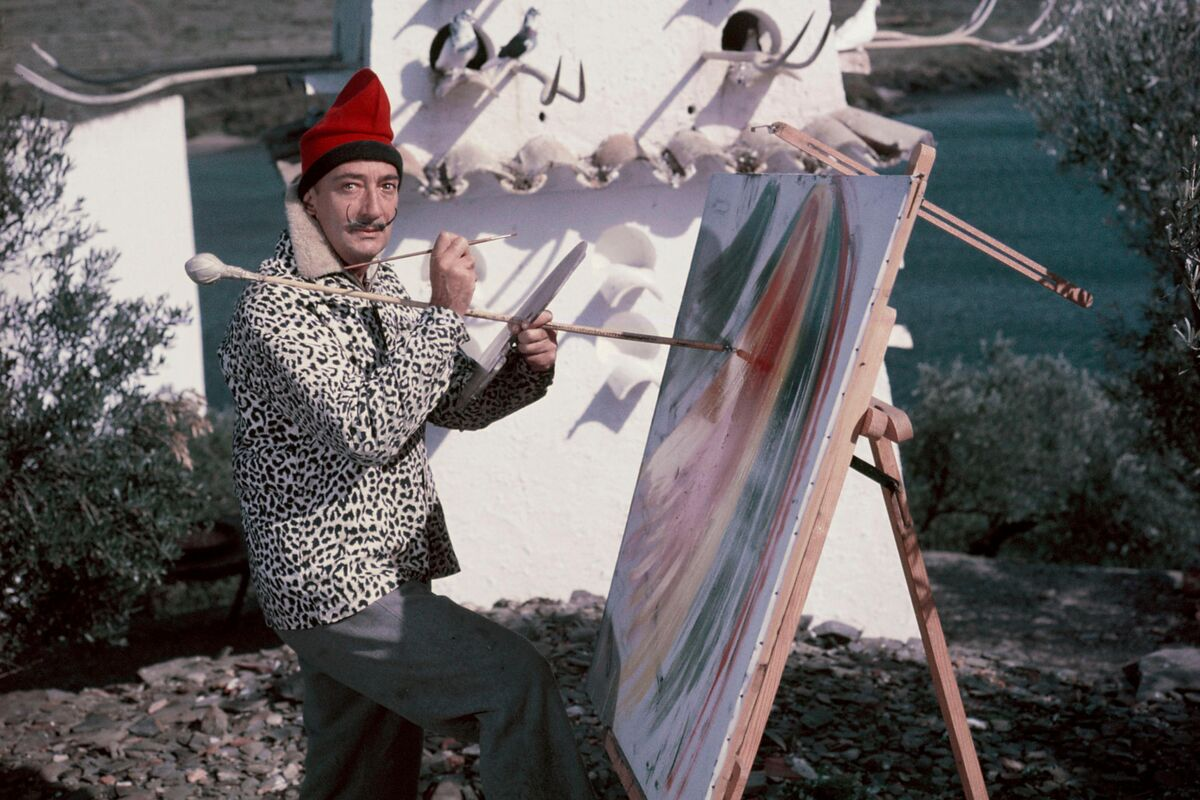 Salvador Dali in Figueres, Spain, circa 1900. Photo by Kammerman/Gamma-Rapho via Getty Images.
