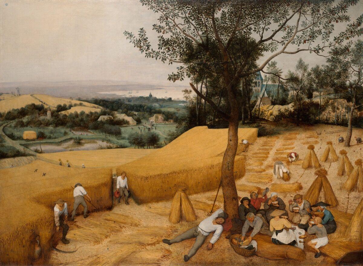 Pieter Bruegel the Elder, The Harvesters , 1565. Courtesy of The Metropolitan Museum of Art.