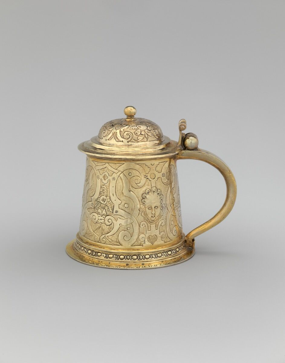 Tankard, German, ca. 1580-85. Rogers Fund, 1911. Courtesy of the Metropolitan Museum of Art.