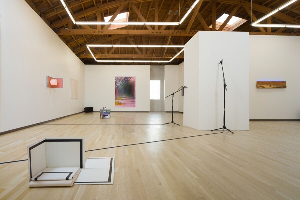 "Installation view of ""Escape Attempts."" Courtesy of Shulamit Nazarian, Los Angeles."