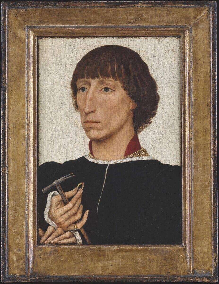 Rogier van der Weyden, Francesco d'Este (born about 1429, died after July 20, 1486), ca. 1460. Photo © The Metropolitan Museum of Art. Courtesy of The Metropolitan Museum of Art.