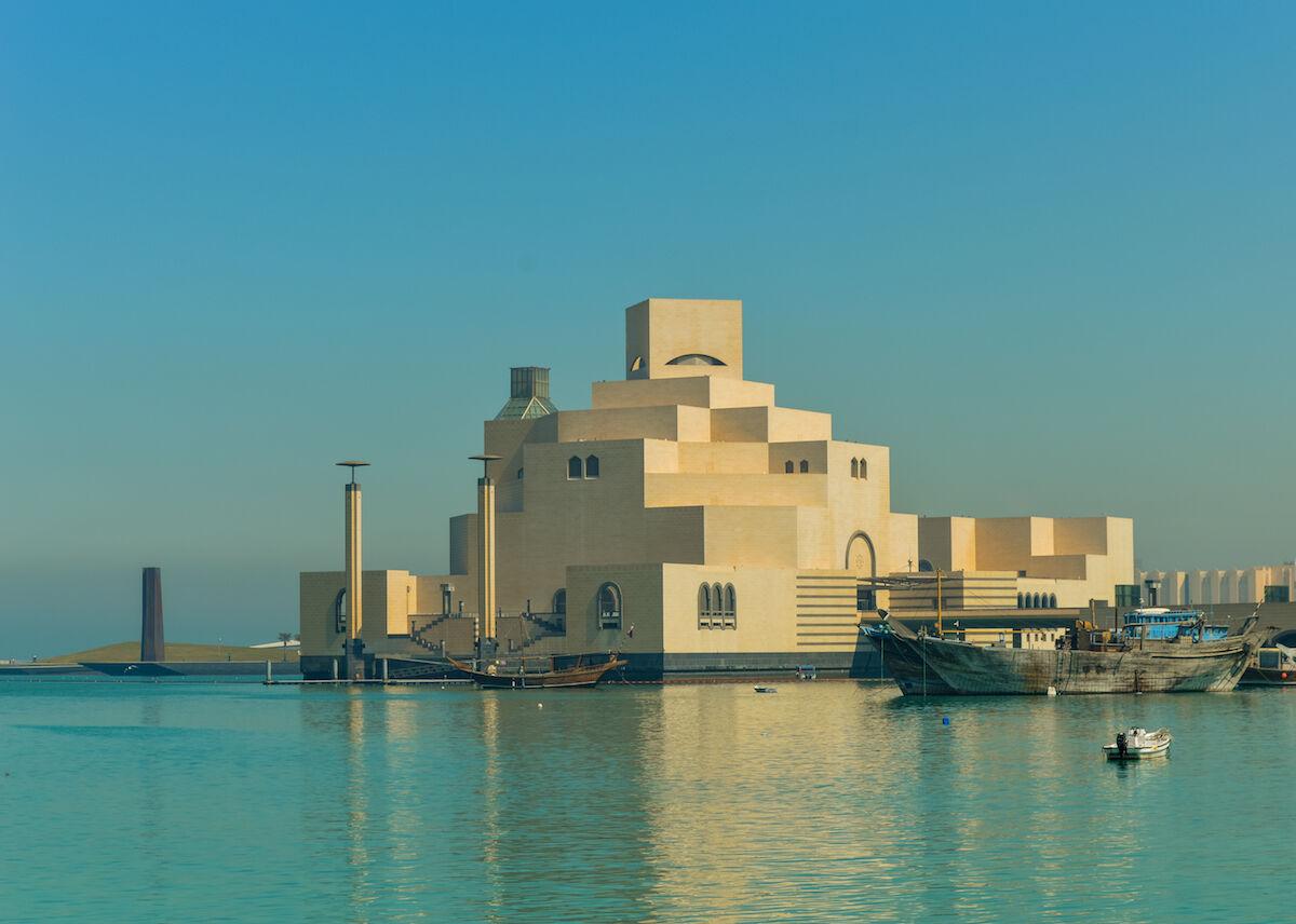 The Museum of Islamic Art in Doha. Photo by Francisco Anzola, via Wikimedia Commons.
