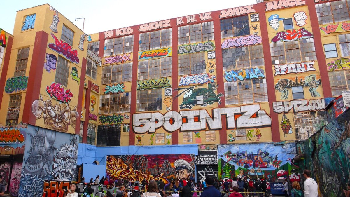 Graffiti art by 5Pointz, 2012. Photo by Annette Bouvain, via Flickr.