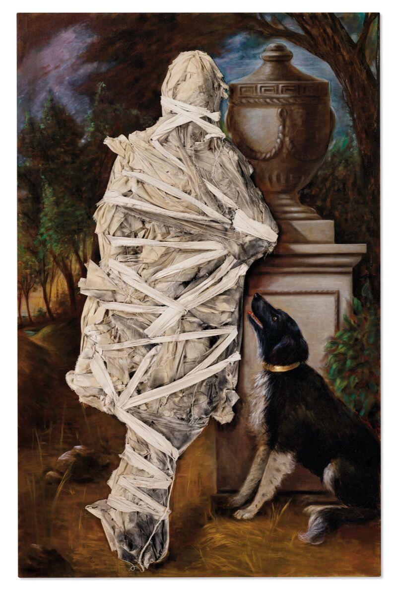 Titus Kaphar, Fidelity, 2010. Courtesy of Christie's Images Ltd. 2020.