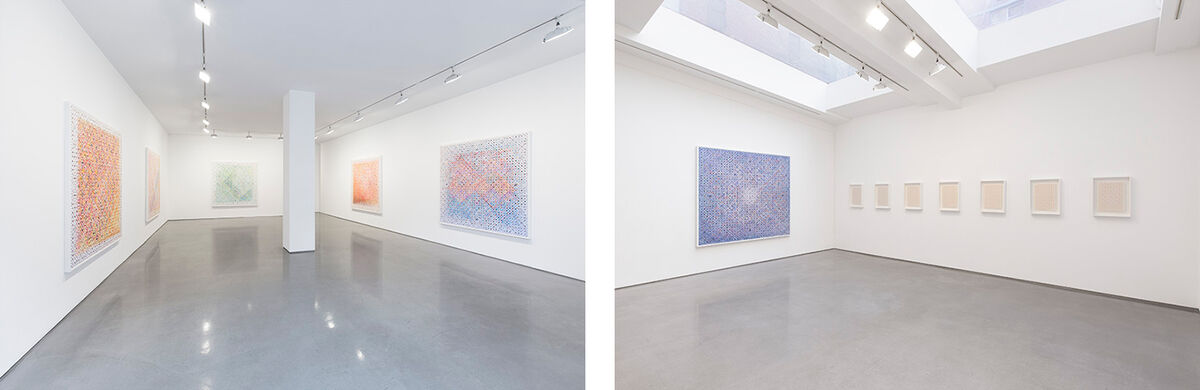 "Installation view of ""Stephen Dean"" at Ameringer 