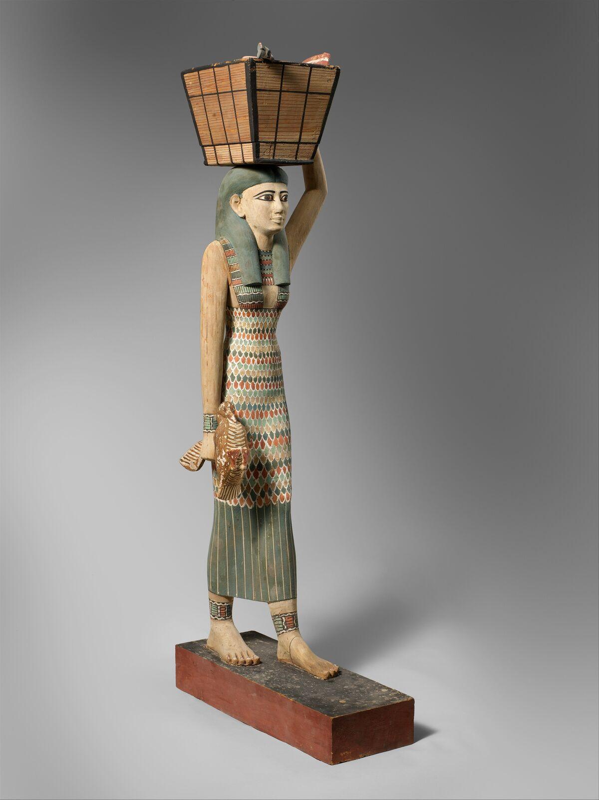 Unknown, Estate Figure, 1981–1975 B.C.. Courtesy of The Metropolitan Museum of Art.