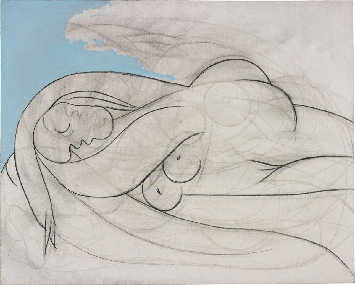 Pablo Picasso, La Dormeuse, 1932. Courtesy of Phillips.