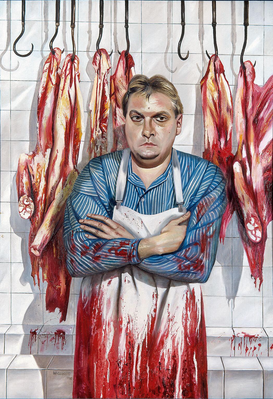 Norbert Wagenbrett, Schlachter (Butcher), 1988.
