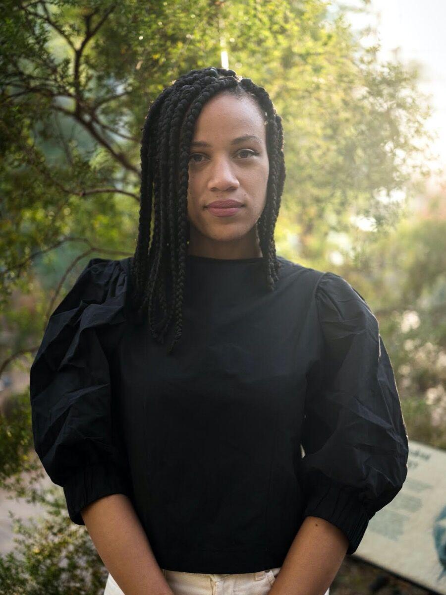 Portrait of Ashley James by Elle Pérez.