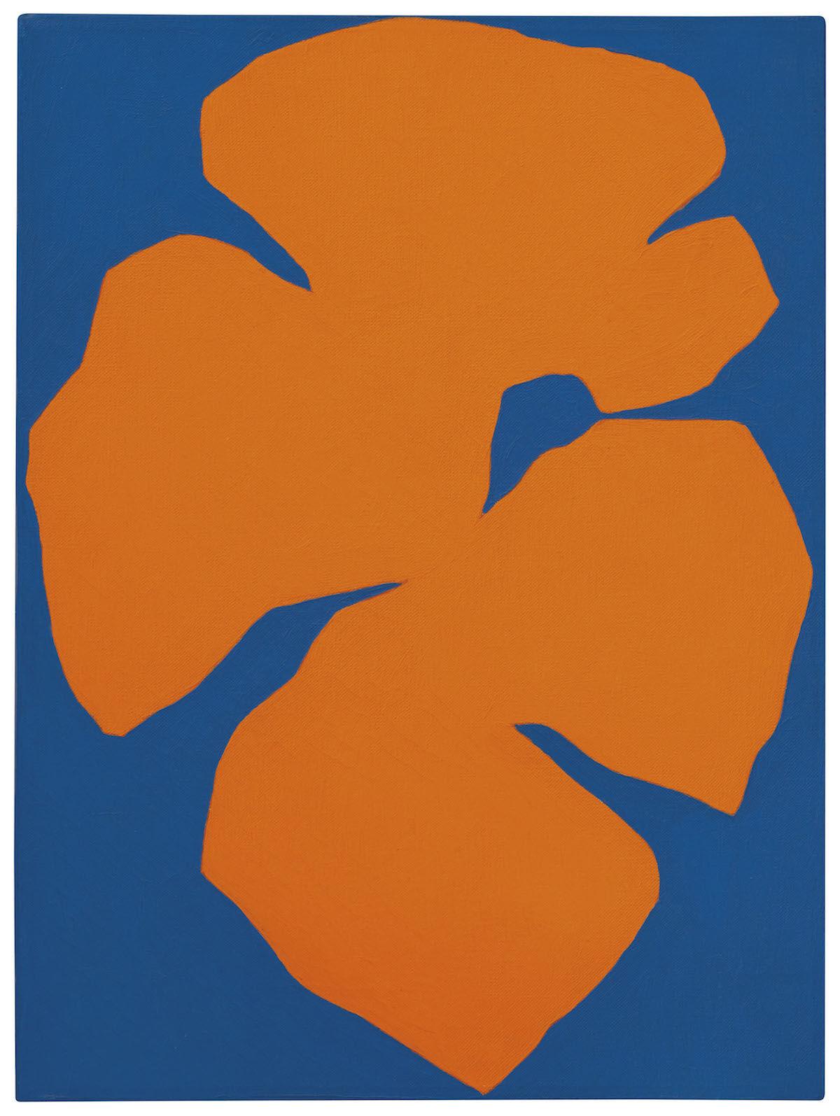 Ellsworth Kelly, Orange Blue, 1957. Est. $900,000–1,200,000. Courtesy Christie's Images Ltd.