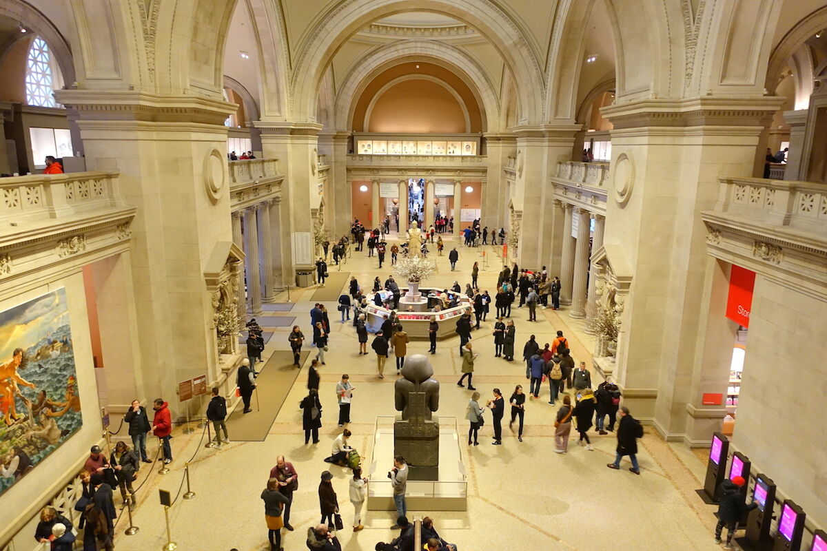 The Metropolitan Museum will close after two employees showed ...