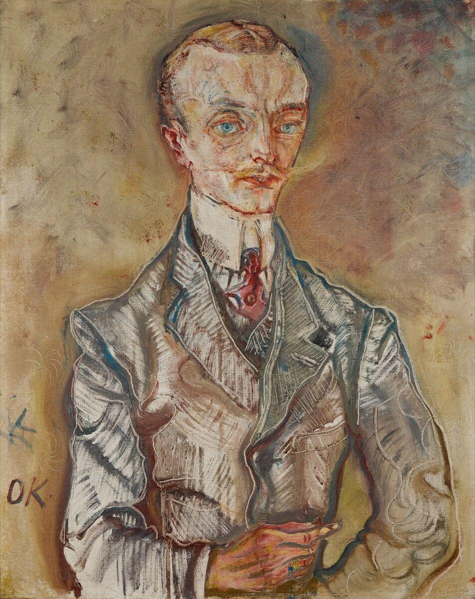 Oskar Kokoschka, Joseph de Montesquiou-Fenzensac, 1910. Courtesy of Sotheby's.