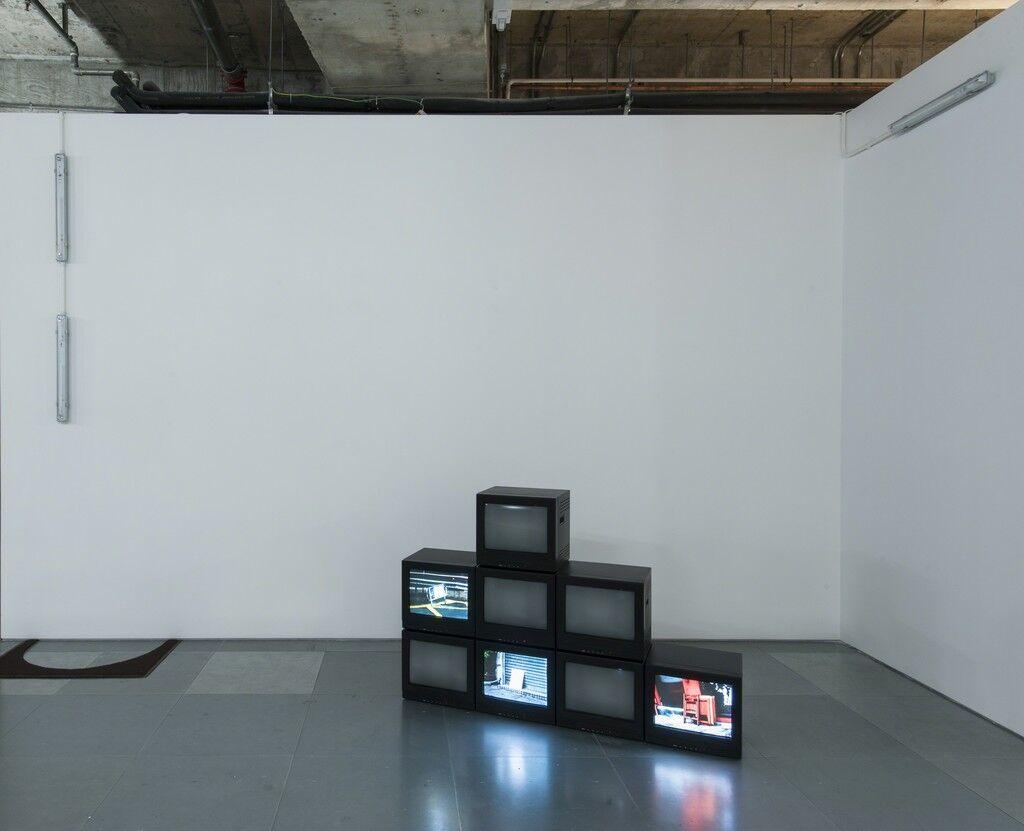 "Installation view ""underground construction: failed"" at Edouard Malingue Gallery, Hong Kong. Courtesy Edouard Malingue Gallery."