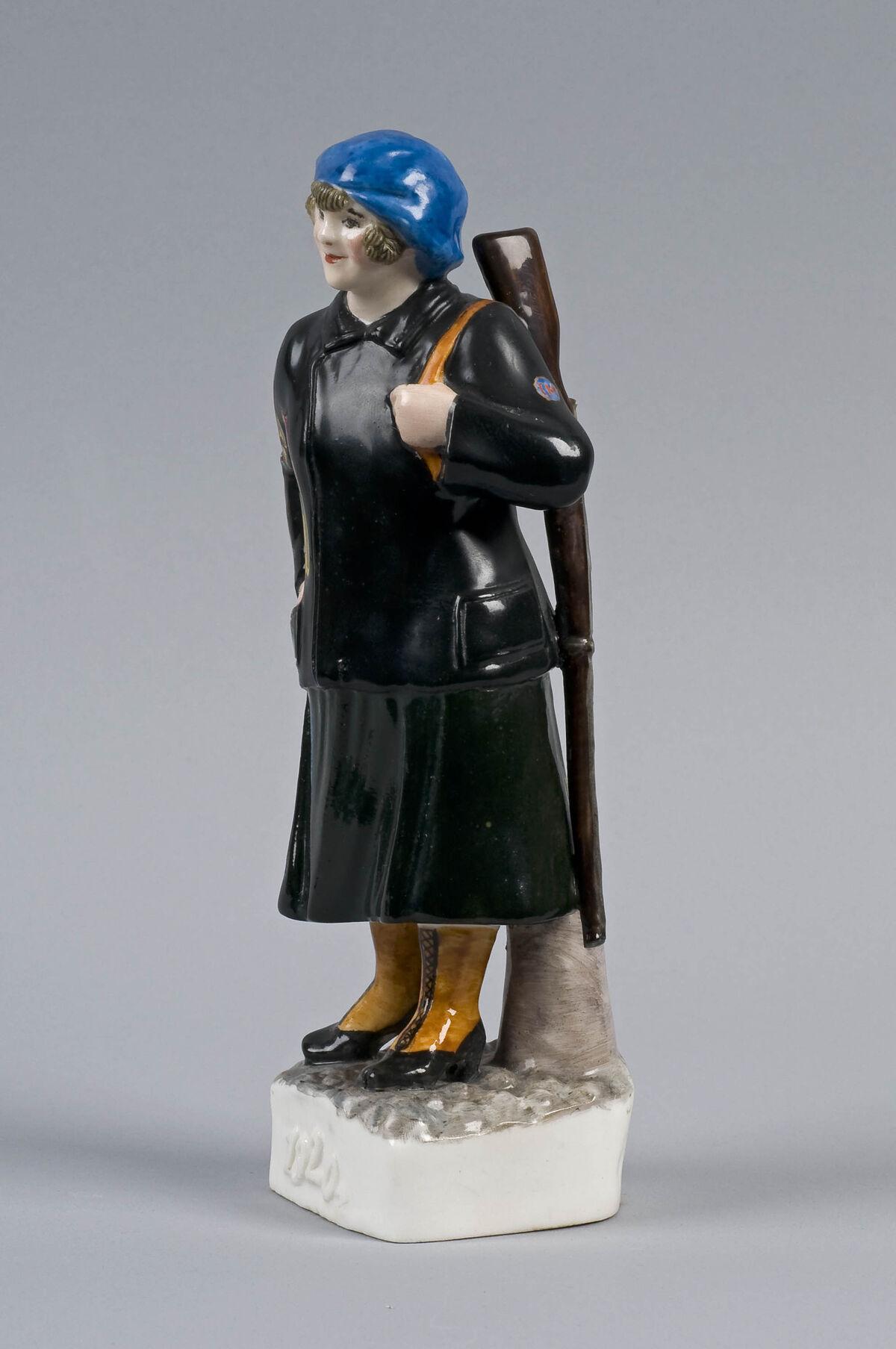 Natal'ia Dan'ko, Policewoman, 1920s. Collection of Vladimir Tsarenkiv. Courtesy of the Art Institute of Chicago.