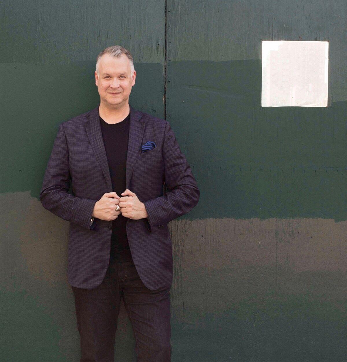Portrait of Eric Shiner. Photo by Walker Olesen. Courtesy of White Cube.