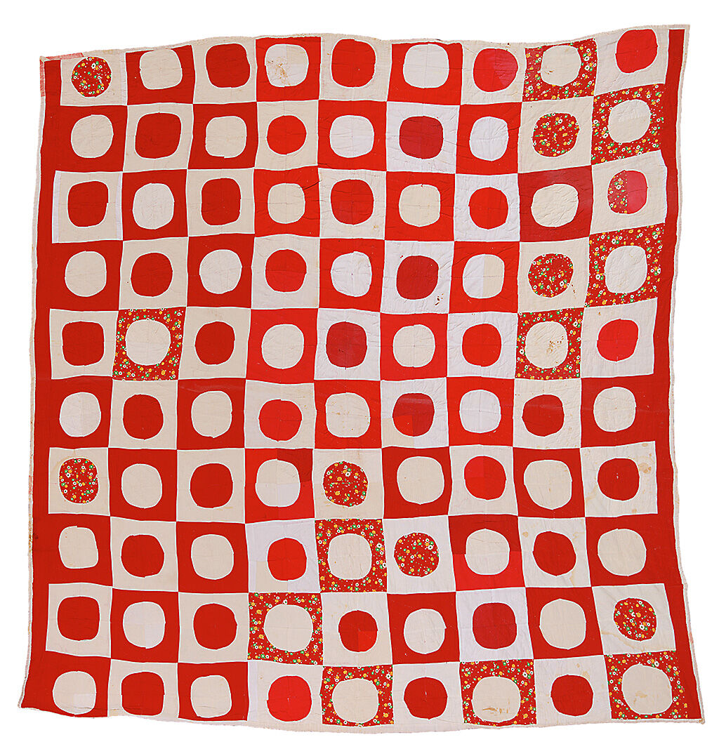 """Lucy T. Pettway, """"Snowball"""" (Quiltmaker's Name), 1950. Courtesy of Souls Grown Deep and Virginia Museum of Fine Arts."""