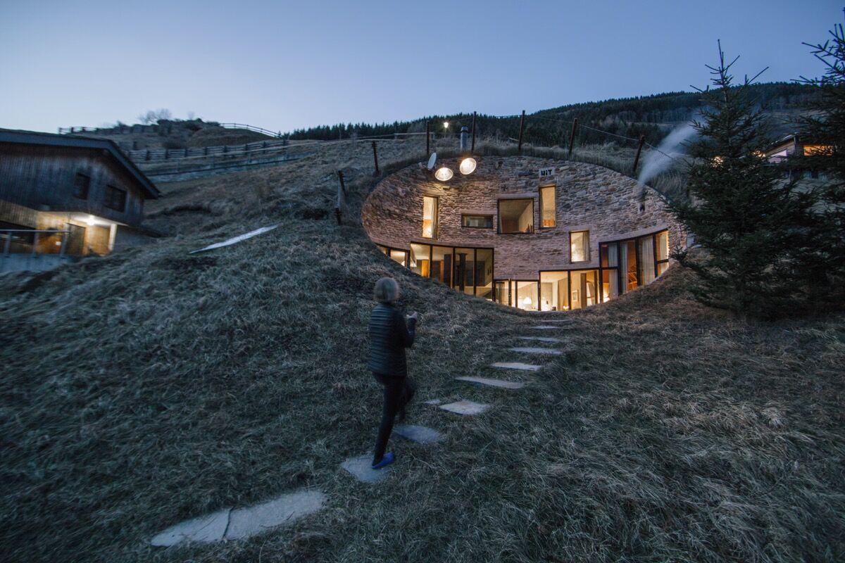 Villa Vals, Vals, Switzerland. Courtesy of PlansMatter.
