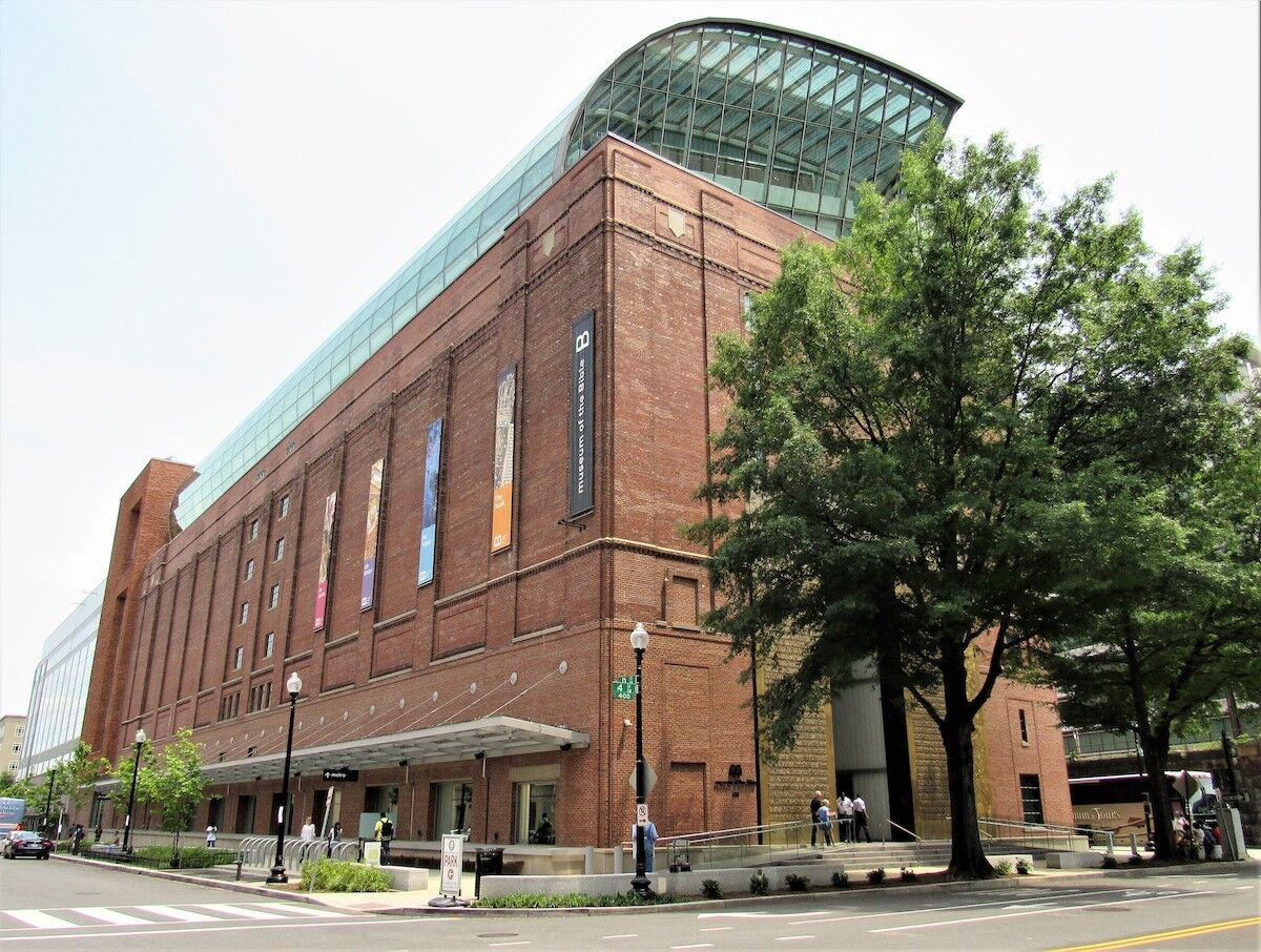 The Museum of the Bible in Washington, D.C., was founded by the family that owns Hobby Lobby. Photo by Farragutful, via Wikimedia Commons.