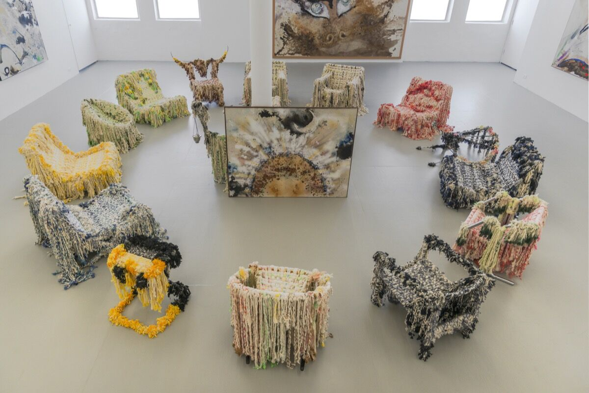 artists blurring the line between art and furniture - artsy