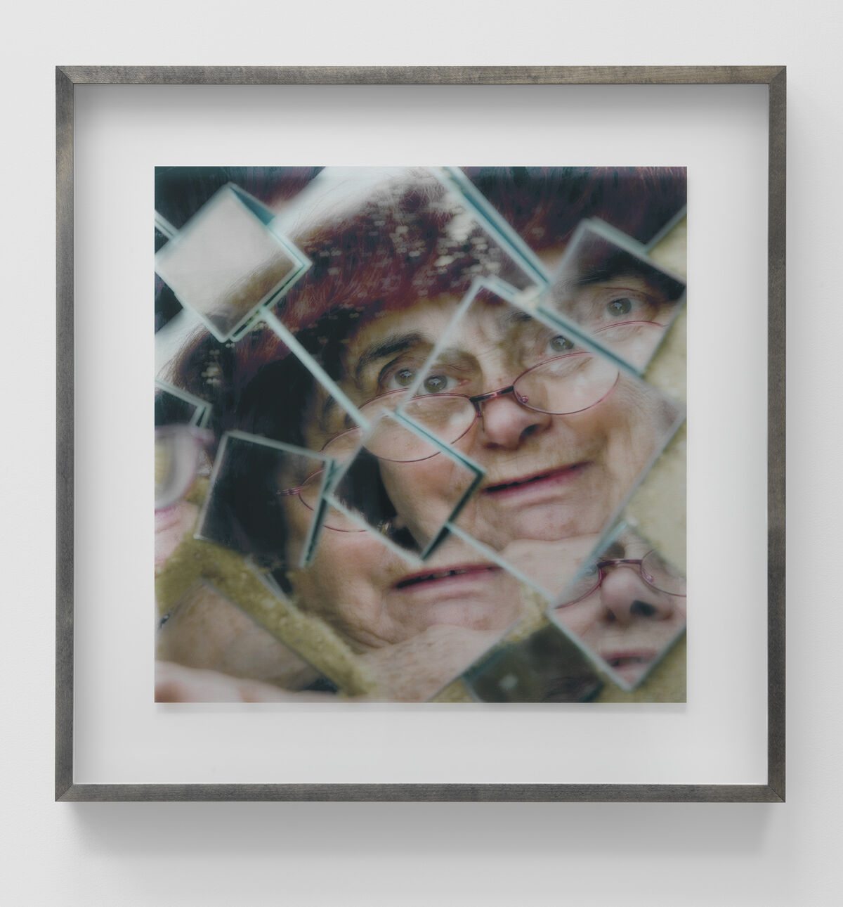 Agnès Varda, Autoportrait morcelé, 2009.      Courtesy of the artist and Blum & Poe, Los Angeles/New York/Tokyo.