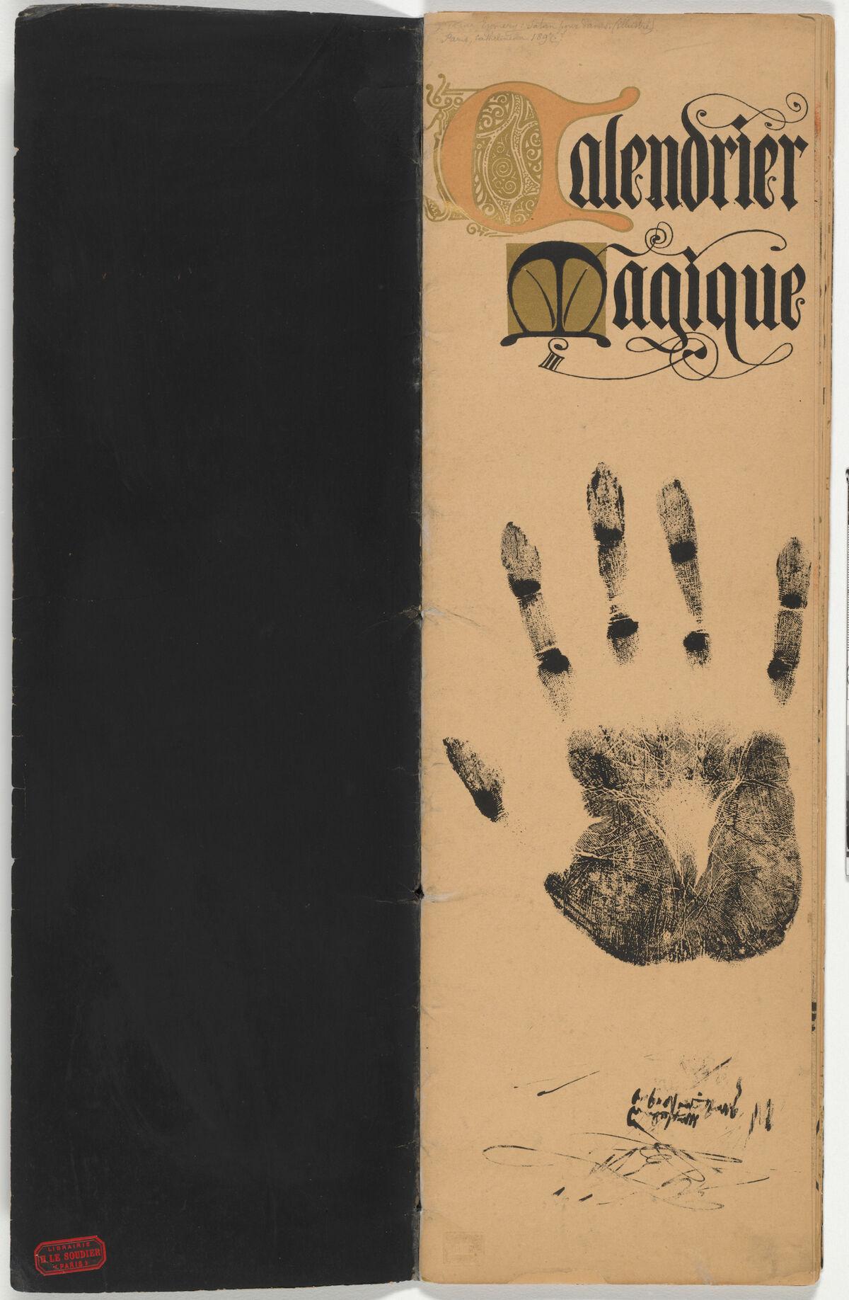 Manuel Orazi, Magic Calendar, 1895. The Baltimore Museum of Art.