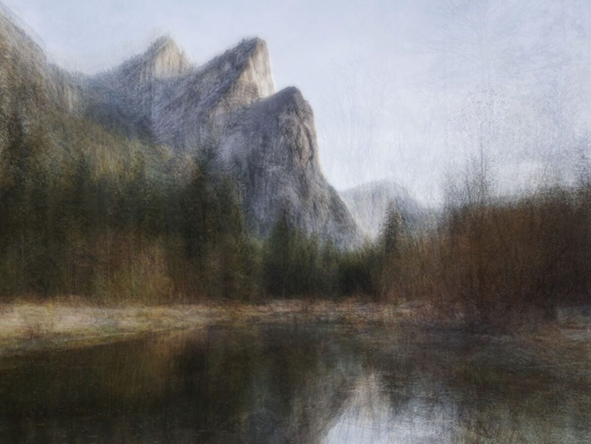 "Corinne Vionnet, Yosemite (#06), 2019, from the series ""Scenic Views."" Courtesy of Danziger Gallery."
