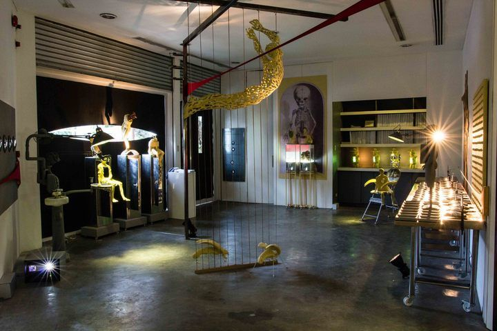 "Installation viewof""Opera""courtesy of Silverlens Gallery"