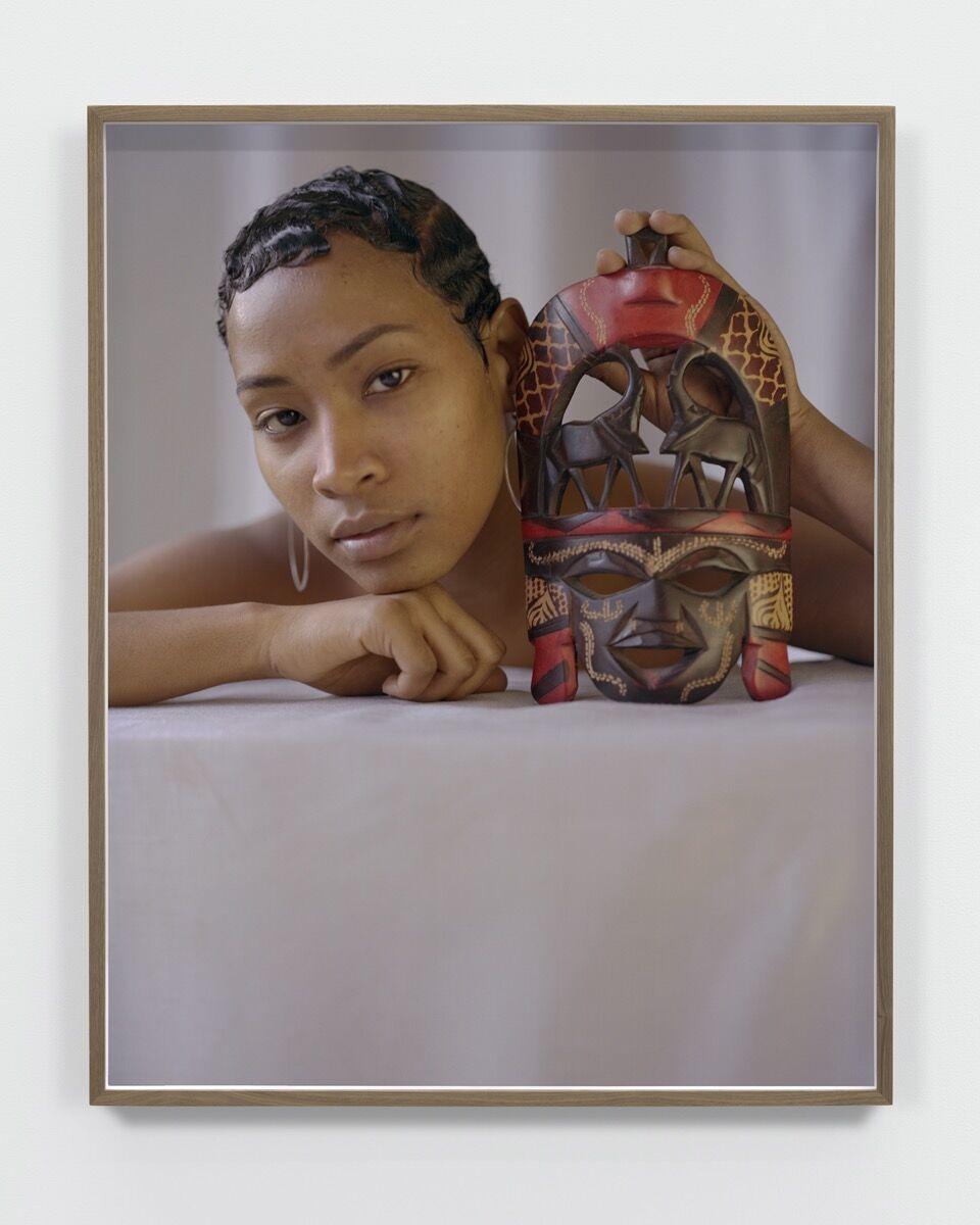 John Edmonds, Tête de Femme, 2018. Courtesy of the artist and Company, New York.