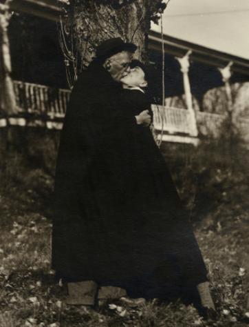 Alfred Stieglitz and Georgia O'Keeffe.