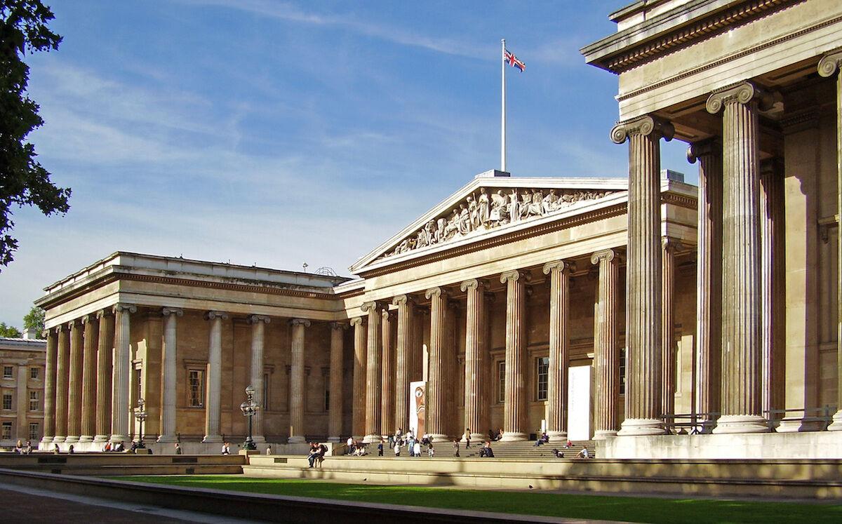 The British Museum. Photo by Ham, via Wikimedia Commons.