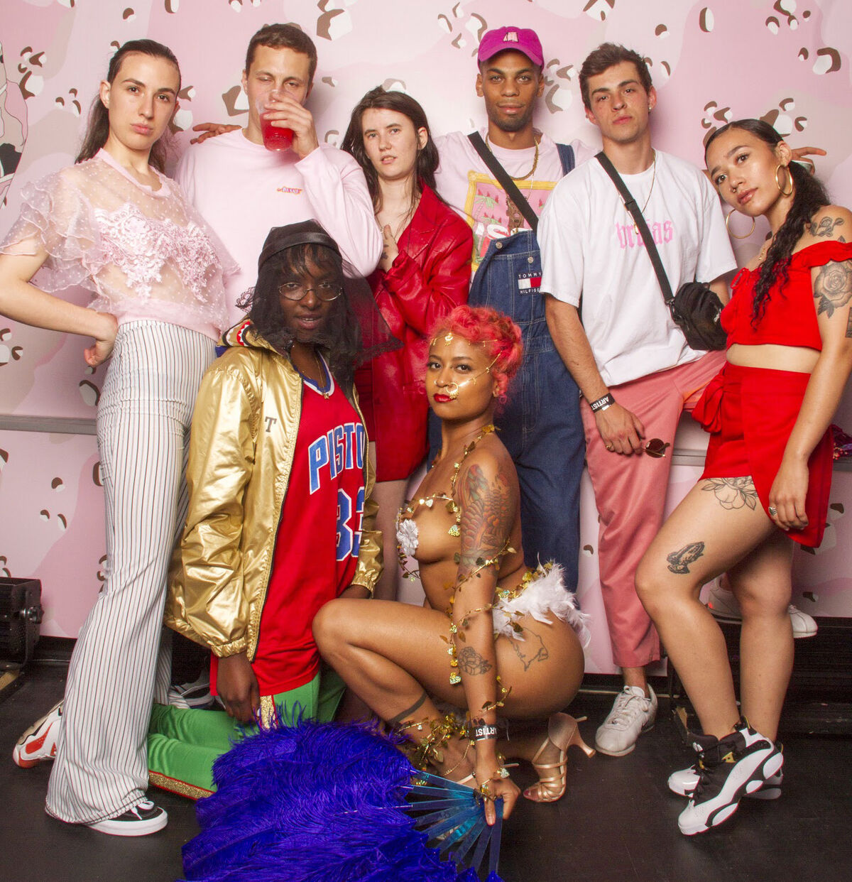 BRUJAS at BRUJAS x Performance Space New York: Anti-Prom at the Red Bull Music Festival, New York, 2018. Courtesy of BRUJAS.
