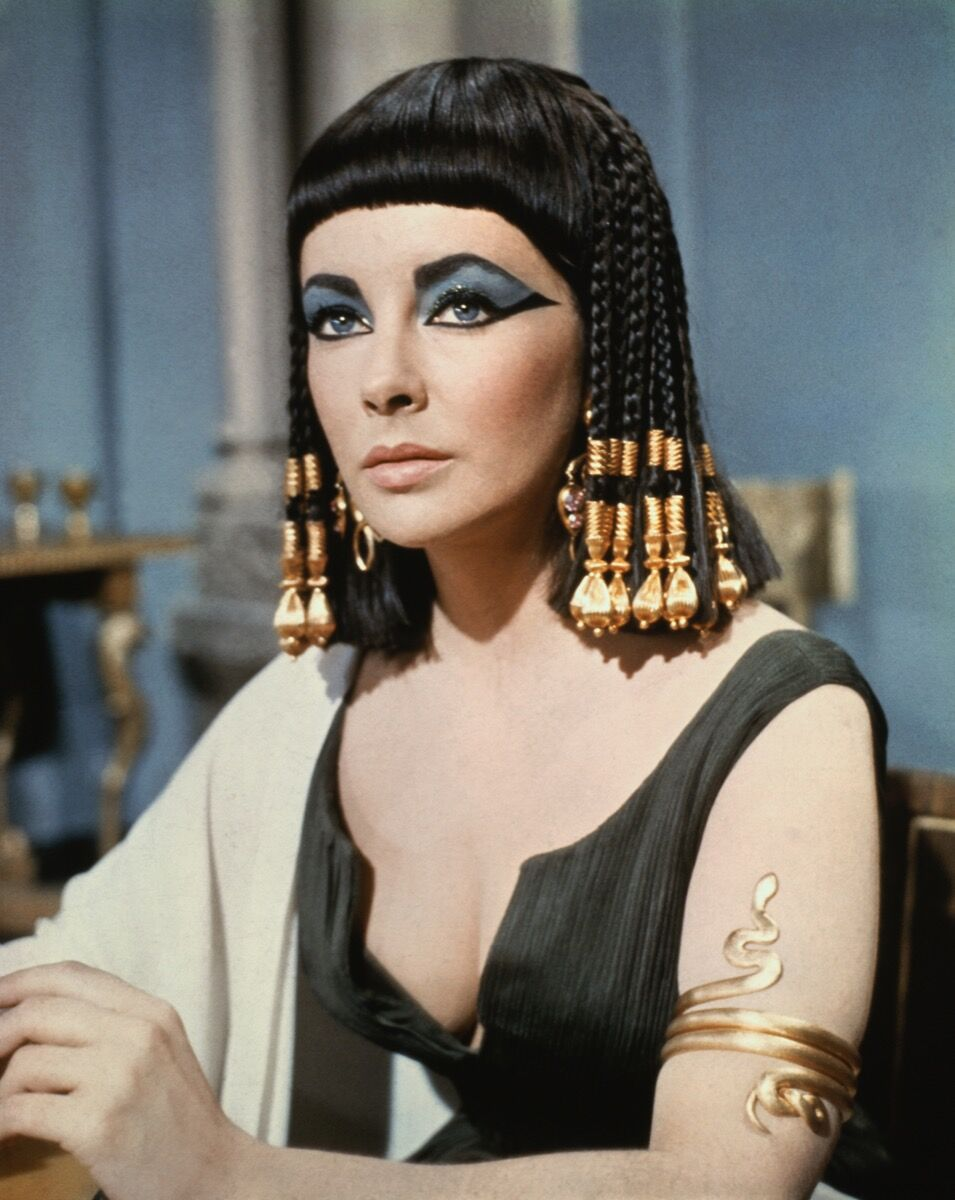 96f8e98fa96 Elizabeth Taylor in Cleopatra (1963). Photo Universal History Archive /  Contributor.
