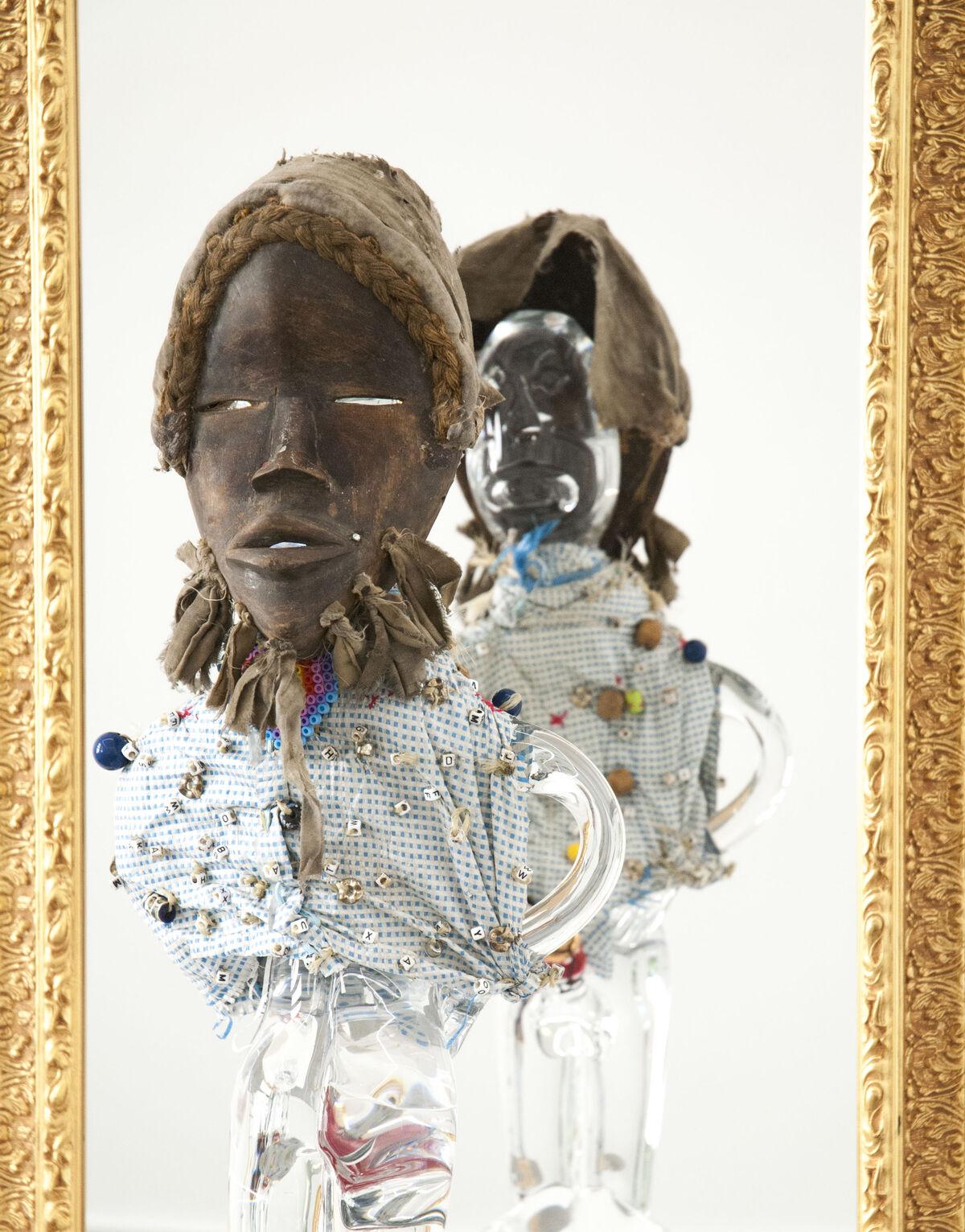 Pascale masquée © Pascale Marthine Tayou - Galleria Continua