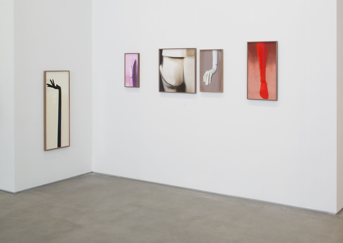 """Installation view of work by Louisa Clement in """"Lyric on a Battlefield"""" at Gladstone Gallery, New York. Photo by David Regen. Courtesy Gladstone Gallery, New York and Brussels."""