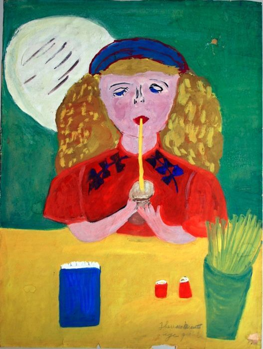 Theresa Messet, age 9, USA, Untitled. Courtesy of Children's Museum of the Arts.