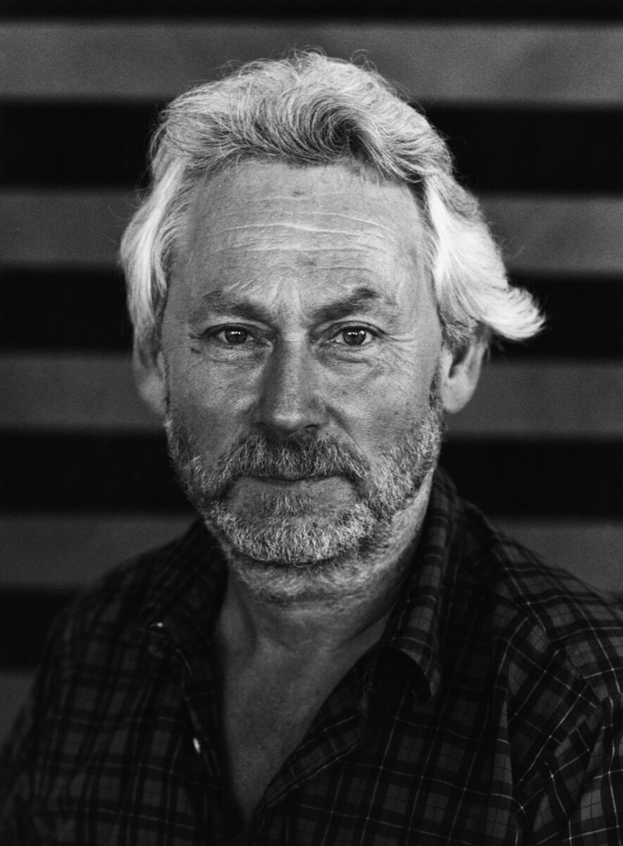 Portrait of Donald Judd, Marfa, Texas, 1992. © Christopher Felver. Courtesy of The Museum of Modern Art.