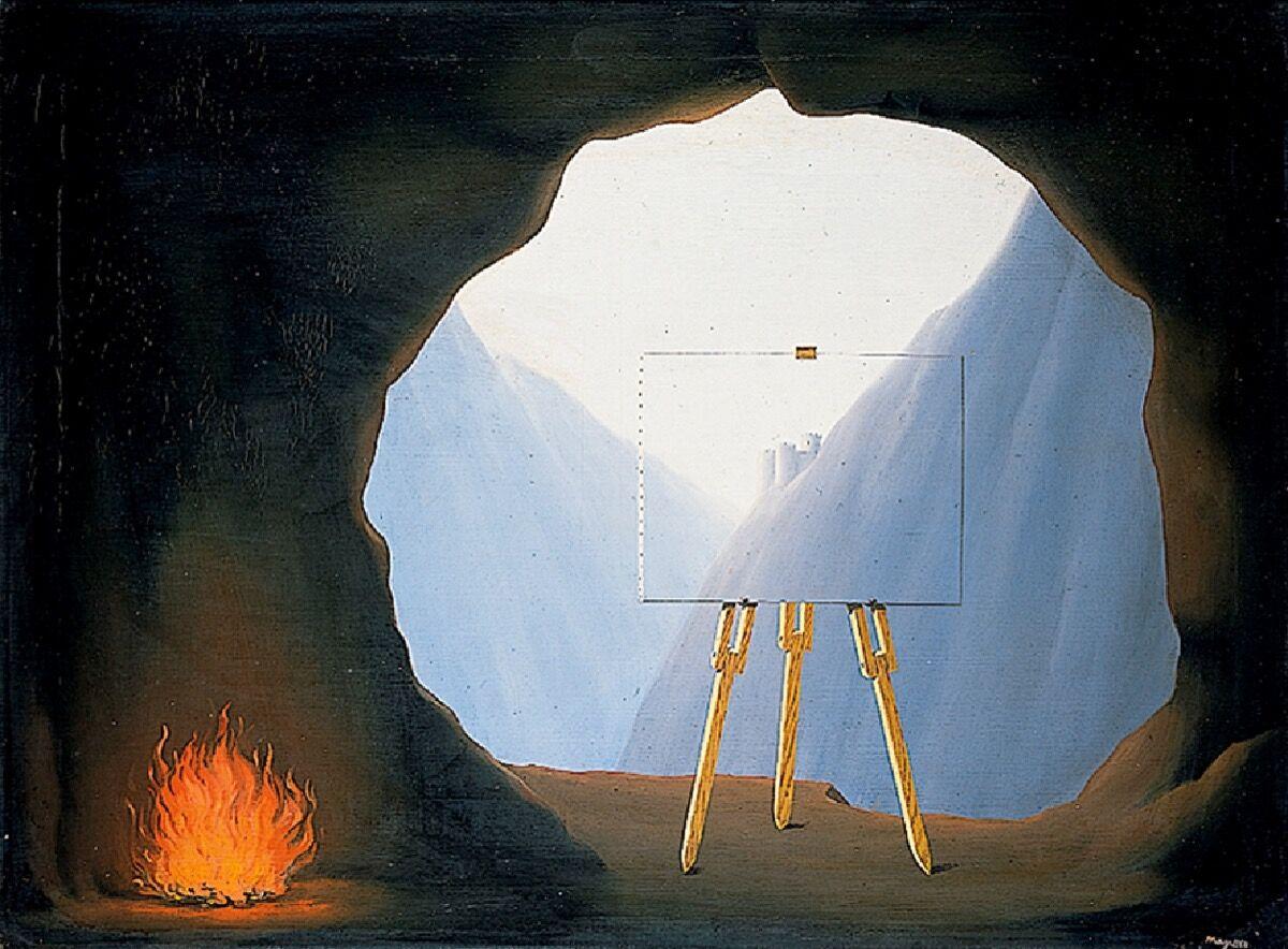 René Magritte, La Condition Humaine, 1935. © ADAGP, Paris.