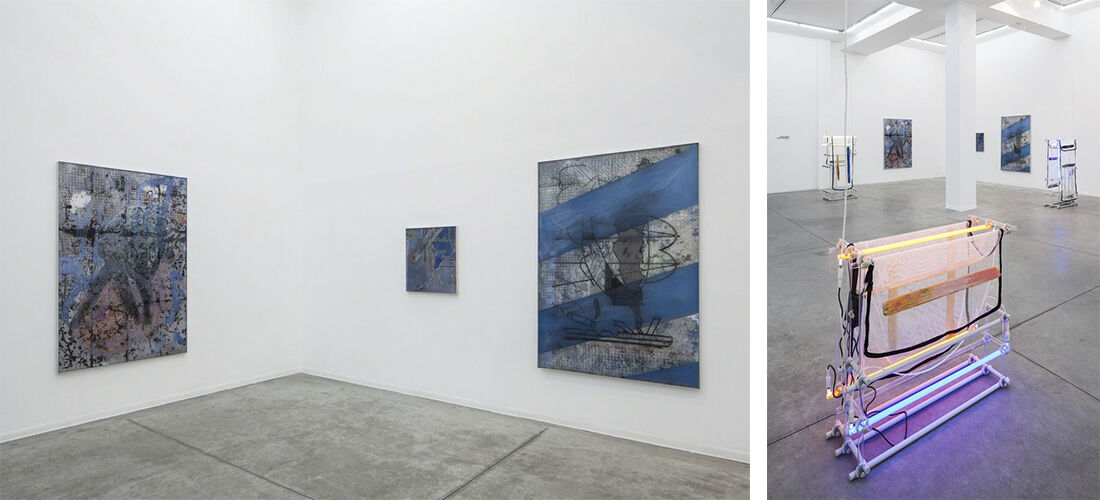 """Installation views of """"Command Shift 4"""" at Hezi Cohen Gallery. Photos by Tal Nisim, courtesy of Hezi Cohen Gallery."""
