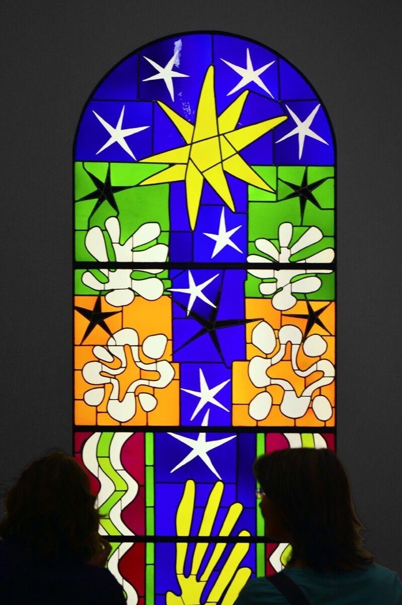 Henri Matisse, Nuit de Noel, 1952. Photo by George Rex, via Flickr.