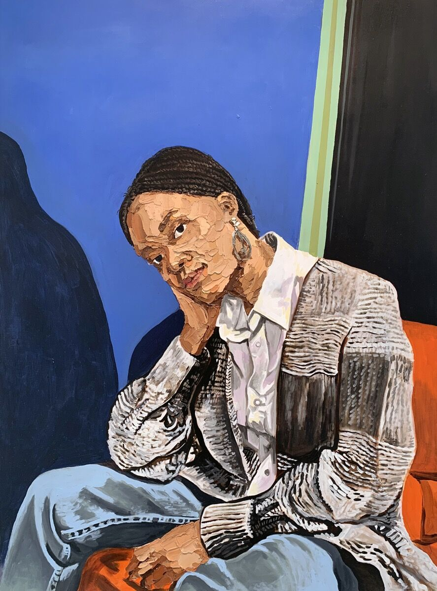 Gerald Lovell, Tia Swint, 2019. Courtesy of the artist and P.P.O.W., New York.