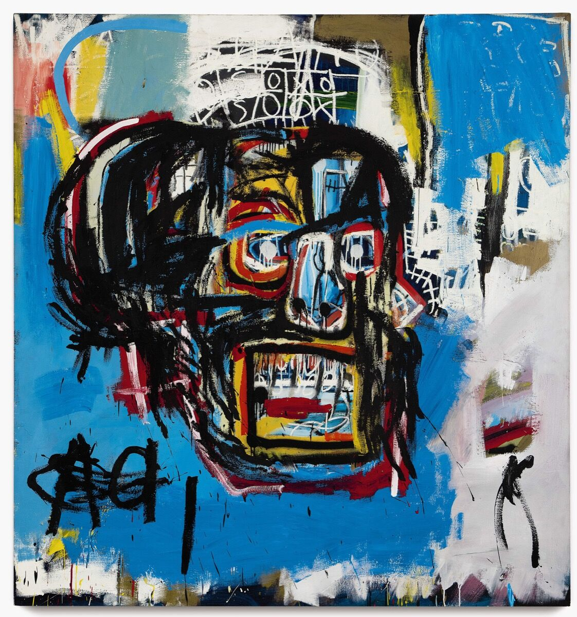 Jean-Michel Basquiat, Untitled, 1982. Courtesy of Sotheby's.