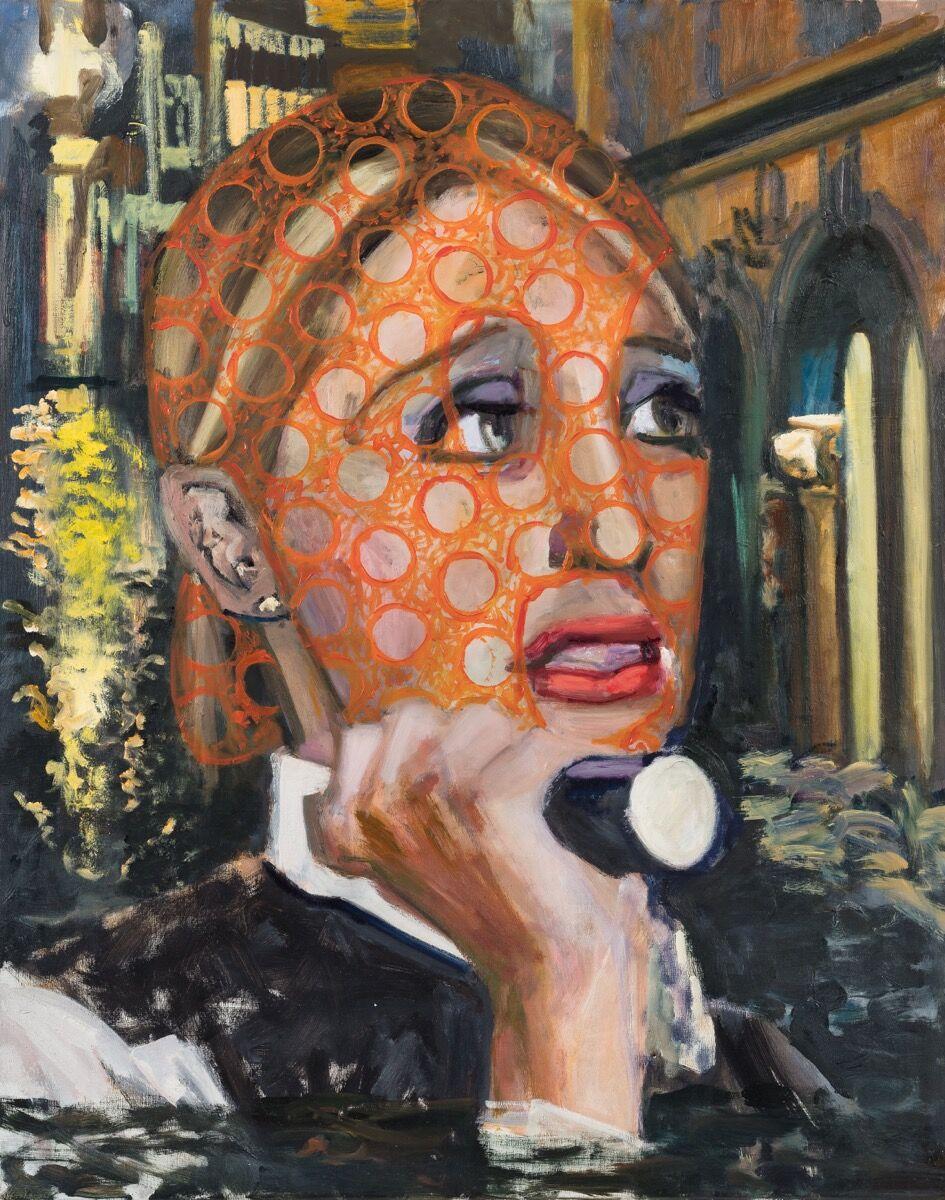 Dawn Mellor, Police Constable Sally Armstrong (Alexandra Louise Bastian), 2016. Courtesy of Team Gallery and the artist.